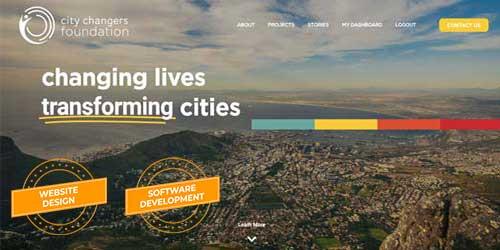 Web Design Software Development SEO - City Changers Foundation